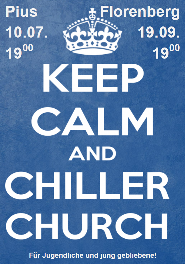 Einladung zur Chiller Church