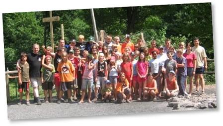 Klick führt direkt zur Bildersammlung zum diesjährigen KLJB-Zeltlager am Totnansberg bei Stangenroth!